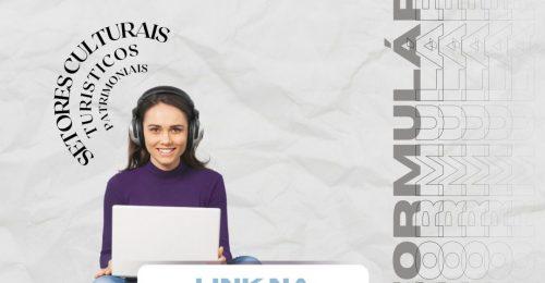 Ilustração da notícia: QUESTIONÁRIO SOCIOECONÔMICO PARA OS SETORES CULTURAIS, TURISTICOS E PATRIMONIAIS