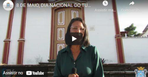 Ilustração da notícia: 8 DE MAIO, DIA NACIONAL DO TURISMO – SECRETÁRIA MÁRCIA BETÂNIA