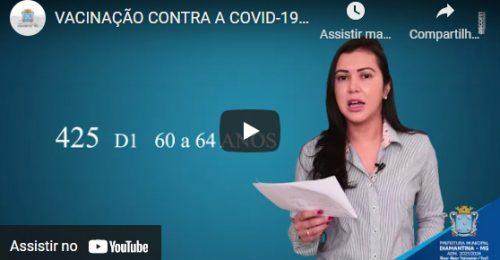 Ilustração da notícia: VACINAÇÃO CONTRA A COVID-19 – ATUALIZAÇÃ0 – 13/05/2021