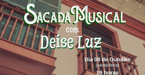 Ilustração da notícia: Sacada Musical 🎤 🎼🎶 – 08/10/2021