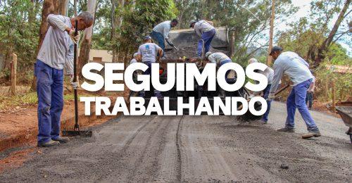 Ilustração da notícia: SEGUIMOS TRABALHANDO